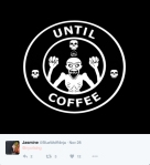 Coffee or death. Does this need further explanation? Thank you Jasmine :D We love this SO much.